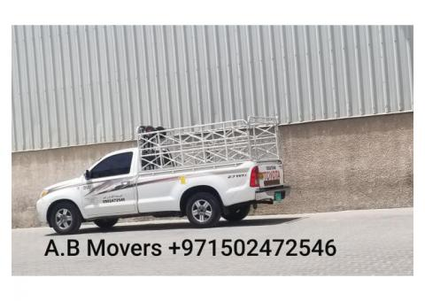 1 ton pickup for rent in international city 0553450037