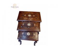 Buy Elegant Seashell Cascading Coffee Table