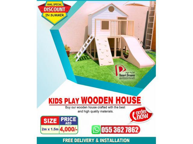 Kids Play Wooden House Suppliers in Uae | Cat House | Dog House.