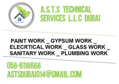 Glass Work , Welding Work , Carpentry Work in Dubai