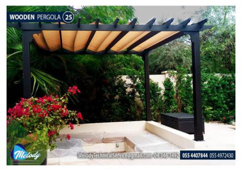 Wooden Pergola Manufacturer in Dubai | Pergola in Dubai | Pergola Suppliers