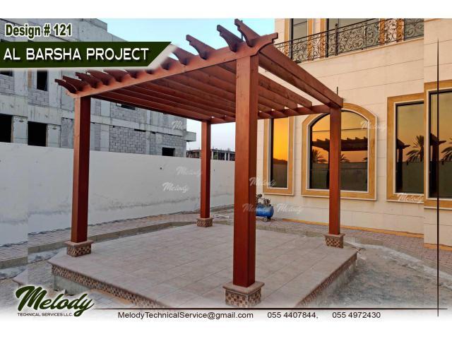 Pergola For Swimming Pool   Wooden Pergola   Pergola Suppliers in Dubai