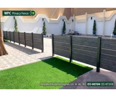 Swimming Pool Wooden Fence   Kids Privacy Fence   WPC fence in Dubai