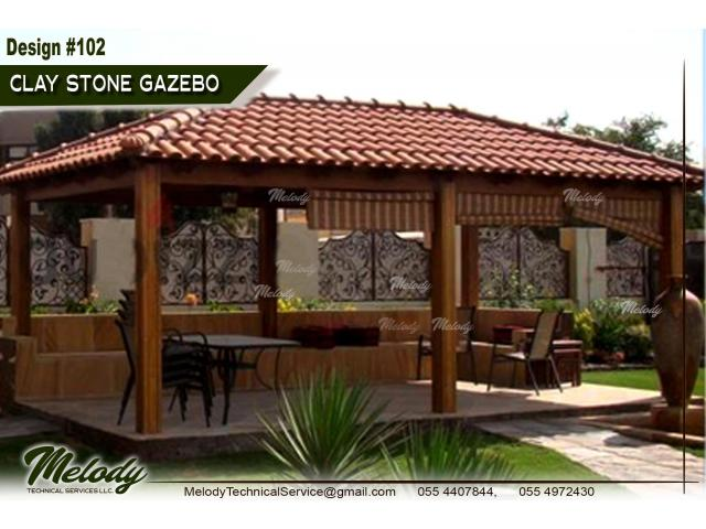 Outdoor Gazebo in Dubai | Wooden Gazebo in Dubai | Garden Gazebo UAE