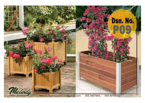 Garden Planters In Dubai | Wooden Planters Suppliers | Planters Box in Abu Dhabi