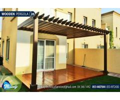 Wooden Pergola In Abu Dhabi | Pergola Suppliers | Pergola In UAE