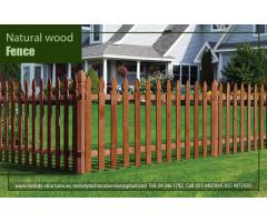Garden Fence In Dubai | Fence Near Swimming Pool | Privacy Wooden Fence Dubai