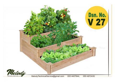 Garden Planters Box Suppliers in Dubai | Wooden Planters Box in Abu Dhabi