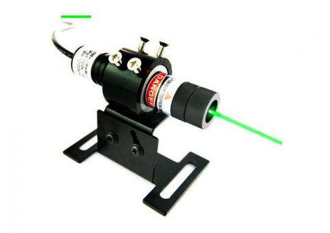 532nm 5mW-100mW Green Line Laser Alignment with Adjustable Focus