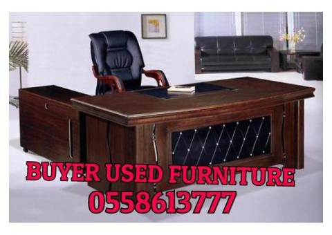 0558613777 USED OFFICE FURNITURE BUYER