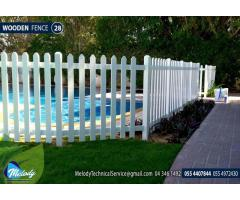 WPC Fence in Abu Dhabi  | Picket Fence in Abu Dhabi | Wooden Fence Suppliers in UAE