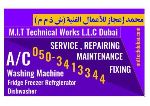 Ac Fridge Washing Machine Service Repair in Dubai