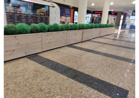 Large Area Wooden Planters in Abu Dhabi   Vegetable Planters Box In Abu Dhabi