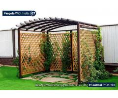 Wooden Pergola In UAE | Pergola Suppliers In Abu Dhabi | Garden Pergola UAE