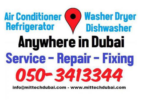 Ac Fridge Washing Machine Dishwasher Repair in Best Low Cost Price in Dubai