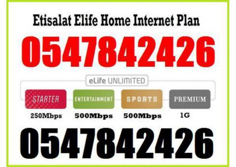 Etisalat Basic TV Package 0547842426