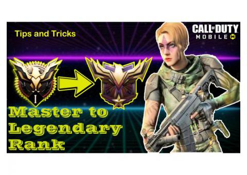 Reach Legendary Rank Fastest Way in Call Of Duty Mobile
