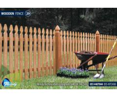 Wooden Fence In Abu Dhabi | WPC Fence in Abu Dhabi | Privacy Fence