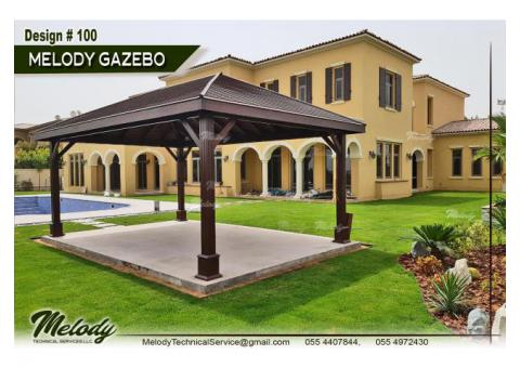 Wooden Gazebo in Abu Dhabi | Garden gazebo | Gazebo Suppliers In Abu Dhabi