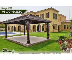 Wooden Gazebo in Abu Dhabi | Garden gazebo | Gazebo Suppliers In Abu Dhabi