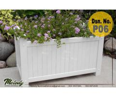 Garden Planters Box in Abu Dhabi | Wooden Planters Box In Abu Dhabi