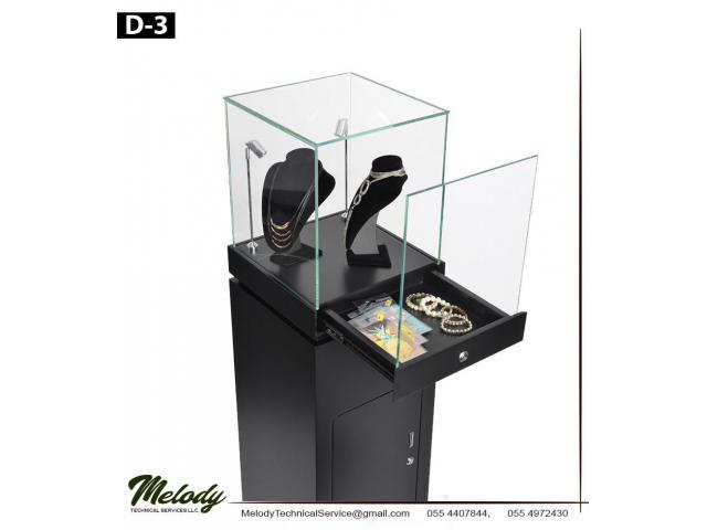 Jewellery Display Stand Abu Dhabi | Rental Display Stand in Dubai | Wooden Display Stand