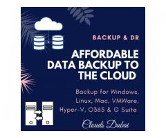 Enterprise-class Backup & DR solution at affordable prices