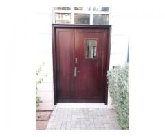 WOODEN FURNITURE, DOORS, FLOORING AND PARGOLA POLISHING AND Painting Services 052-5569978