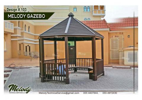 Garden Gazebo in Dubai | Wooden Gazebo in Dubai | Gazebo Suppliers UAE