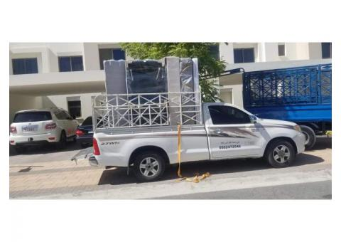 pickup truck for rent in al raffa 0504210487