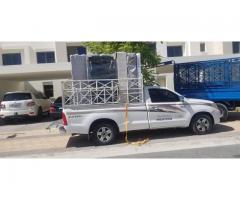 pickup truck for rent in al raffa 0504210487