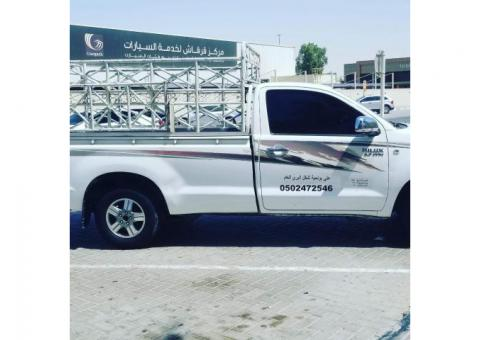 1&3 pickup truck for rent in mirdif 0504210487