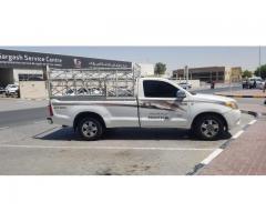 1&3 pickup truck for rent in al barsha 0555686683