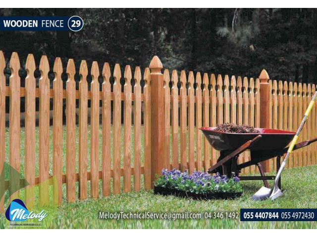 Composite Wood Fence | Picket Fence in Dubai | WPC Fence Suppliers in UAE