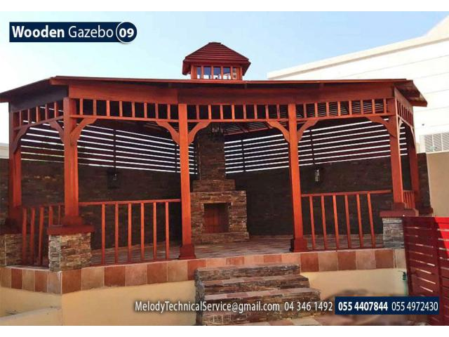 Gazebo Suppliers Dubai | Garden Gazebo in Dubai | Wooden Gazebo in UAE