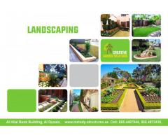 Marble Fixing And Artificial Grass installation in Dubai | Landscaping Ideas in Dubai