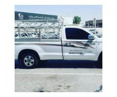 pickup truck for rent in arabian rsnches 0555686683