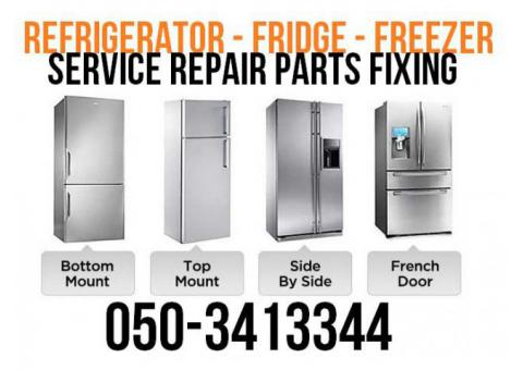 Fridge Repair Service Fixing Cleaning and Freon Gas Filling in Dubai