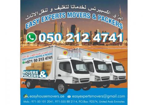 HOUSE FURNITURE PACKERS AND MOVERS SHIFTERS 0502124741 IN AL AIN