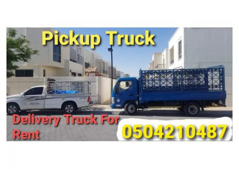 pickup truck for rent in difc 0504210487