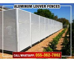 Aluminum Fences Contractor in Dubai, Abu Dhabi, Sharjah, UAE.