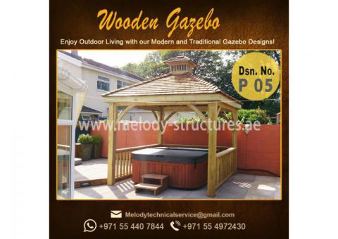 Gazebo in Dubai | Outdoor Gazebo | Wooden Gazebo in Abu Dhabi | Gazebo in Mirdif