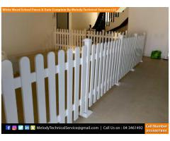Fence | Picket Fence in Dubai | Wooden Privacy Fence Suppliers | Kids Play Ground Fence