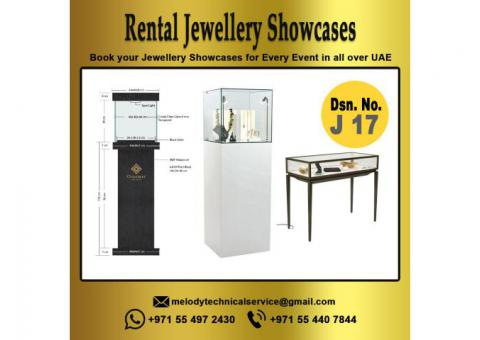 Rental Jewellery Display in Dubai | Jewellery Showcases | Jewellery Display for Events, Exhibition