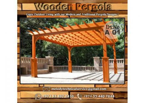 Pergola | Wooden Pergola Suppliers | Pergola in UAE | Pergola in Arabian Ranches