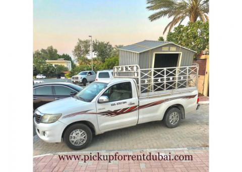 Pickup for rent in Al Barsha 052 7351506