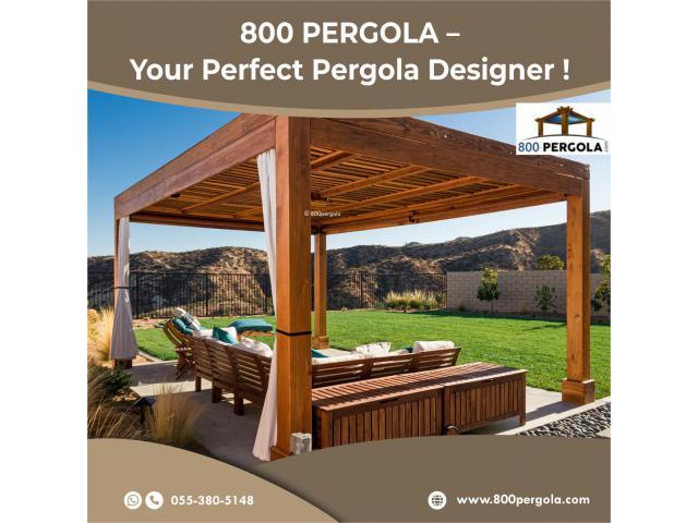 800 Pergola - Premium Pergola Manufacturer in Dubai, UAE