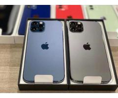 Apple iPhone 12 Pro  128GB = $700USD,iPhone 12 Pro Max  128GB = $750USD, iPhone 12 64GB = $550