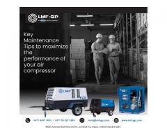 Key Maintenance Tips to maximize the performance of your air compressor