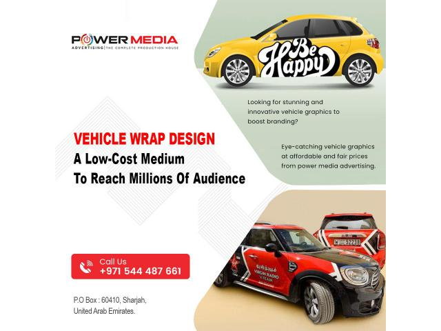 Vehicle wrap design – A low-cost medium to reach millions of audience